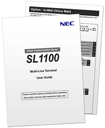 Nec Dt400 Phone User Manual